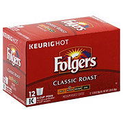 Folgers Classic Roast Medium Roast Single Serve Coffee K Cups