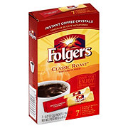 Folgers Classic Roast Single Serve Instant Coffee Packets