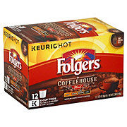 Folgers Coffeehouse Blend Medium Dark Roast Single Serve Coffee K Cups