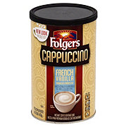 Folgers French Vanilla Cappuccino