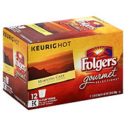 Folgers Morning Cafe Light Roast Single Serve Coffee K Cups