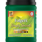Folgers Simply Smooth Decaf Medium Roast Ground Coffee