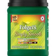 Folgers Simply Smooth Decaf Medium Roast Ground Coffee