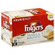 Folgers Vanilla Biscotti Single Serve Coffee K Cups