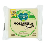 Follow Your Heart Mozzarella Style Cheese Slices