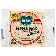 Follow Your Heart Pepper Jack Cheese Slices