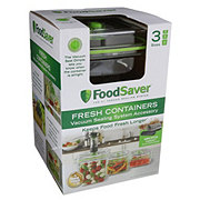 FoodSaver Fresh Containers Set, Assorted Sizes