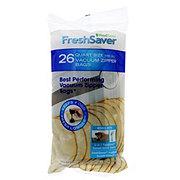 FoodSaver FreshSaver Quart Vacuum Zipper Bags