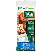 FoodSaver Gallon Zipper Bags