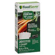 FoodSaver Quart Bags