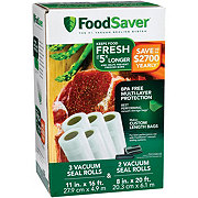 FoodSaver Vacuum-Seal Rolls, Multi-Pack