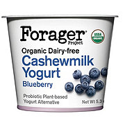 Forager Organic Blueberry Cashew Yogurt