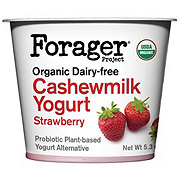 Forager Organic Strawberry Cashew Yogurt