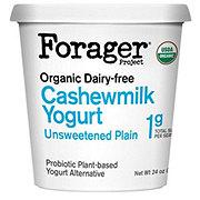 Forager Organic Unsweetened Plain Cashew Yogurt