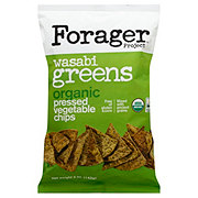 Forager Project Wasabi Greens Organic Vegetable Chips