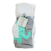 Forever Baby Patch N' Play Blanket Aqua