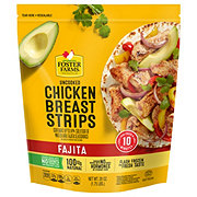 Foster Farms Saute Ready Fajita Marinated Raw Chicken Breast Strips