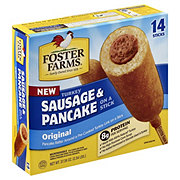 Foster Farms Turkey Sausage Pancake Wrap On a Stick