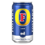 Fosters Lager Beer Can
