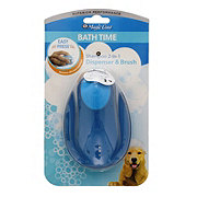 Four Paws Magic Coat 2-in-1 Shampoo Dispenser and Brush