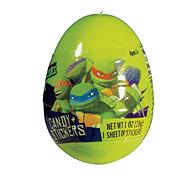 Frankford Teenage Mutant Ninja Turtle Plastic Egg with Candy & Stickers
