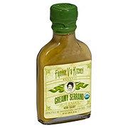 Frankie V's Kitchen Creamy Serrano Hot Sauce