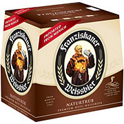 Franziskaner Hefe-Weissbier Naturtrub Beer 12 oz Bottles