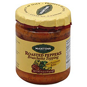 Fratelli Mantova Roasted Peppers Bruschetta Topping
