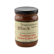 Fredericksburg Farms Guadalupe Valley Cilantro & Garlic Salsa