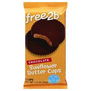 Free2B Milk Chocolate Sunflower Butter Cups