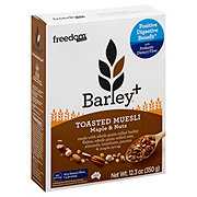 Freedom Foods Barley+ Muesli Maple And Nut