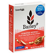 Freedom Foods Barley+ Muesli Pink Lady and Macadamia