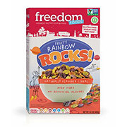 Freedom Foods Fruity Rainbow Rocks Cereal