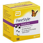 FreeStyle InsuLinx Blood Glucose Test Strips
