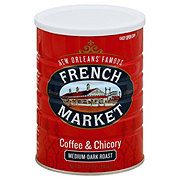 French Market Coffee and Chicory Medium-Dark Roast