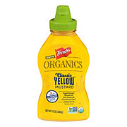 French's True Organics Classic Yellow Mustard