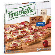 Freschetta Brick Oven Crust Pepperoni and Italian Style Cheese Pizza