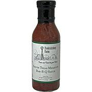 Fresdericksburg Fams Sauce South Texas Mesquite BBQ