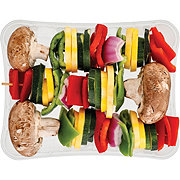 Fresh 3 Skewer Kabob Vegetables