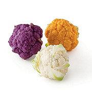 Fresh Assorted Baby Cauliflower