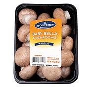 Fresh Baby Bella Mushrooms
