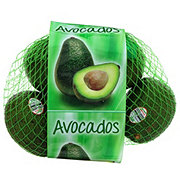 Fresh Bagged Avocados