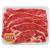 Fresh Beef Chuck Agujas Value Pack Value Beef