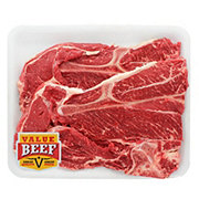 Fresh Beef Chuck Blade Steak Bone-In Value Pack Value Beef