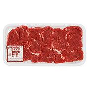 Fresh Beef Chuck Shoulder Flanken Style Ribs Thin Boneless