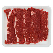 Fresh Beef Chuck Shoulder Flanken Style Ribs Thin Boneless Value Pack
