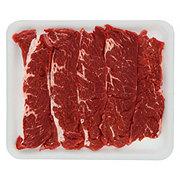 Fresh Beef Chuck Shoulder Flanken Style Ribs Thin Boneless Value Pack