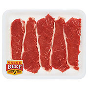Fresh Beef Loin New York Strip Steak Thin Boneless Value Pack Value Beef