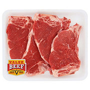 Fresh Beef New York Strip Bone-In Thin Value Beef