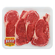 Fresh Beef Ribeye Steak Bone-In Value Pack Value Beef